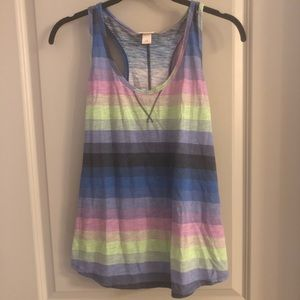 Mossimo Striped Tank Top Large